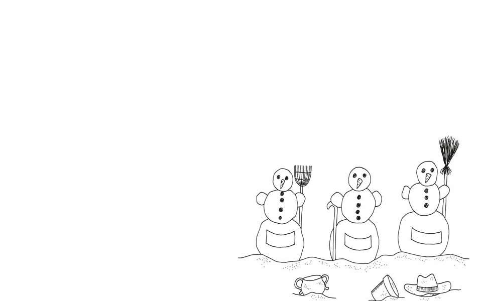 Rätsel zu den Jahreszeiten: Winter