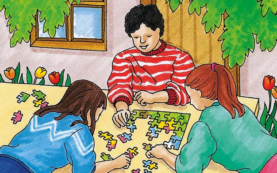 Kulturpuzzle: Klassengemeinschaft stärken