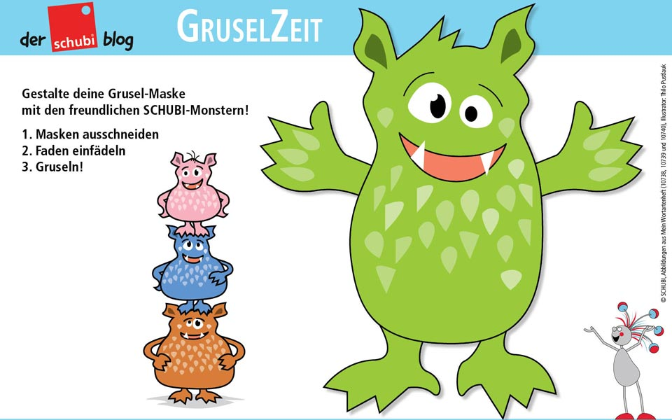 Monsterstarke Grusel-Masken