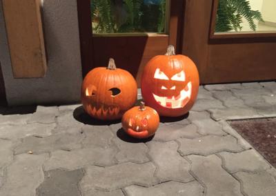 Halloweens Kürbis