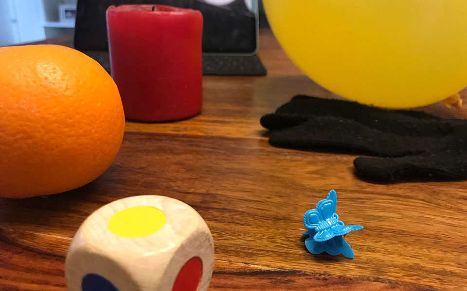 Fünfte Konferenz – Farbwürfelspiel